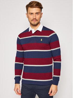 Polo Ralph Lauren Polo Ralph Lauren Тениска с яка и копчета Lsl 710818479002 Цветен Custom Slim Fit