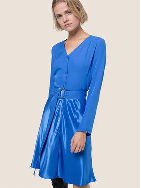 Hugo Hugo Každodenní šaty Edithia 50439486 Modrá Regular Fit