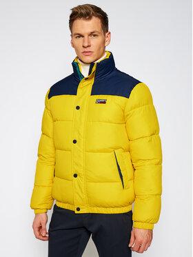 Tommy Jeans Tommy Jeans Пухено яке Corp DM0DM09379 Жълт Regular Fit