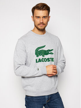 Lacoste Lacoste Bluza SH2167 Szary Regular Fit