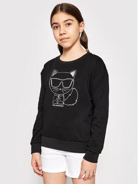 KARL LAGERFELD KARL LAGERFELD Sweatshirt Z15312 S Schwarz Regular Fit