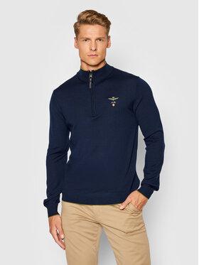 Aeronautica Militare Aeronautica Militare Sweater 212MA1343L415 Sötétkék Regular Fit