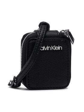 Calvin Klein Calvin Klein Ausinių dėklas Ipod Air Dangle K60K608190 Juoda