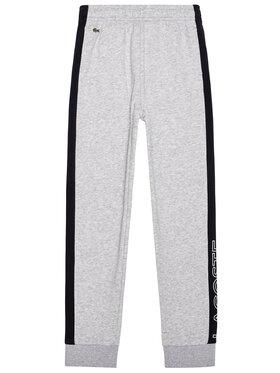Lacoste Lacoste Spodnie dresowe XJ1227 Szary Regular Fit
