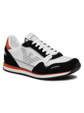 Emporio Armani Sneakersy X4X537 XM678 Q093 Biela