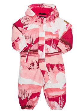 Reima Reima Βρεφικό φορμάκι εξόδου Puhuri 510306 Ροζ Regular Fit