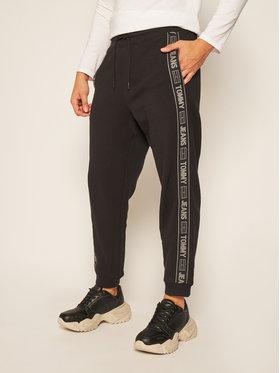 Tommy Jeans Tommy Jeans Teplákové kalhoty Tape DM0DM08676 Černá Slim Fit