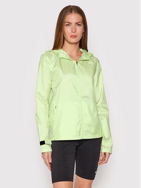 Nike Nike Куртка для бігу Essential CU3217 Зелений Standard Fit