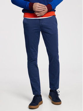 Vistula Vistula Текстилни панталони Malcolm XA0868 Тъмносин Regular Fit