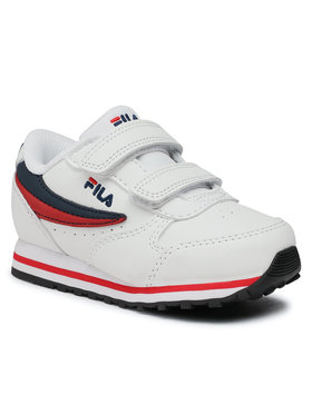 Fila Fila Sneakersy Orbit Velcro Infants 1011080.98F Biela