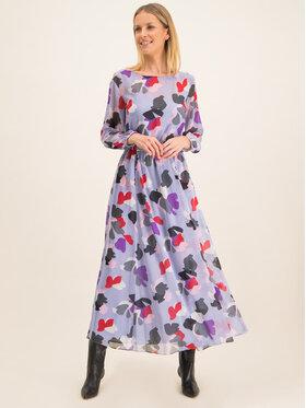 Emporio Armani Emporio Armani Ежедневна рокля 3H2A98 2NXUZ F808 Виолетов Regular Fit