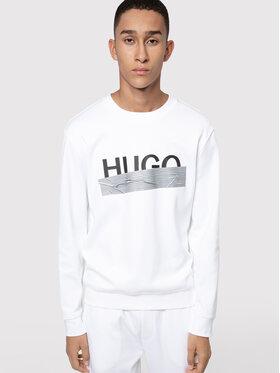 Hugo Hugo Суитшърт Dicago_U204 50436126 Бял Regular Fit