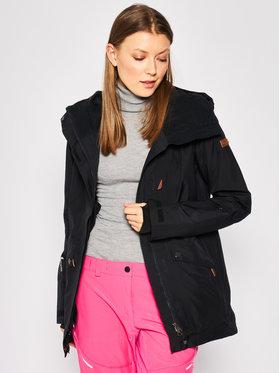 Roxy Roxy Kurtka narciarska Glade ERJTJ03224 Czarny Tailored Fit