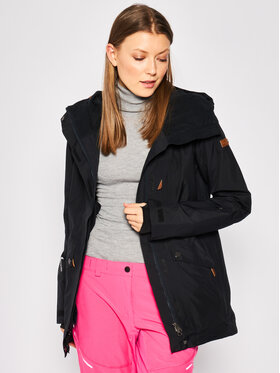 Roxy Roxy Skijacke Glade ERJTJ03224 Schwarz Tailored Fit