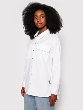 Calvin Klein Jeans Calvin Klein Jeans Koszula J20J215596 Biały Regular Fit