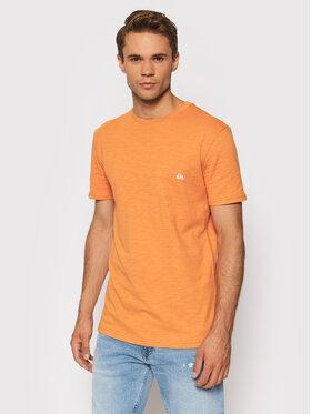 Quiksilver Quiksilver T-Shirt Witton EQYKT04118 Pomarańczowy Regular Fit