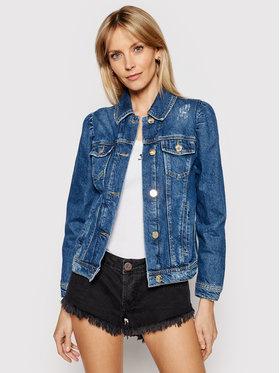 Pinko Pinko Kurtka jeansowa Betty PE 21 PDEN 1J10NB Y653 Granatowy Regular Fit