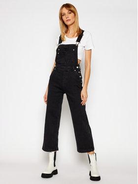 Pepe Jeans Pepe Jeans Kelnės su petnešomis ARCHIVE Shay PL230335 Juoda Regular Fit