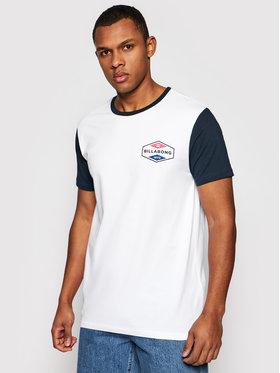 Billabong Billabong T-Shirt Surplus W1SS40BIP1 Biały Regular Fit