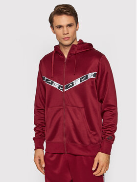 Nike Nike Bluza Sportswear DM4672 Bordowy Regular Fit