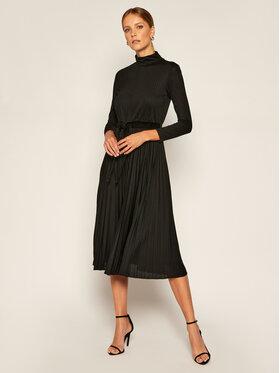 Marella Marella Официална рокля Polonia 36260109200 Черен Regular Fit