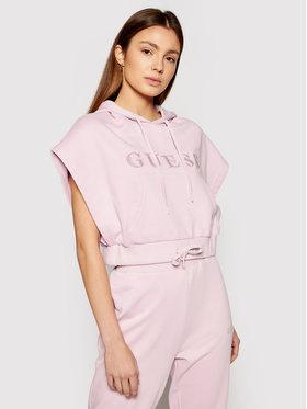 Guess Guess Majica dugih rukava O1GA00 K68I1 Ružičasta Loose Fit