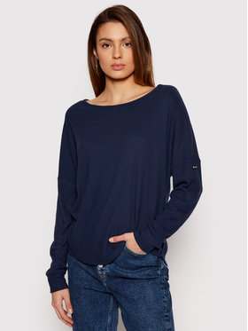 Roxy Roxy Bluse Holiday Everyday ERJKT03676 Dunkelblau Loose Fit