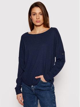 Roxy Roxy Bluză Holiday Everyday ERJKT03676 Bleumarin Loose Fit