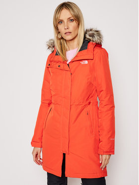 The North Face The North Face Parka Recycled Zaneck NF0A4M8YR151 Narancssárga Regular Fit