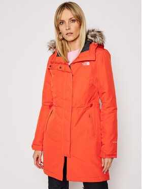 The North Face The North Face Парка Recycled Zaneck NF0A4M8YR151 Оранжев Regular Fit