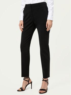 Hugo Hugo Текстилни панталони The Fitted 50440474 Черен Regular Fit