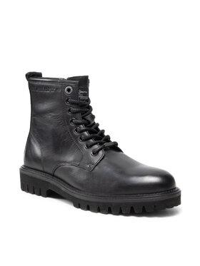 Pepe Jeans Pepe Jeans Turistická obuv Trucker Boot PMS50213 Černá