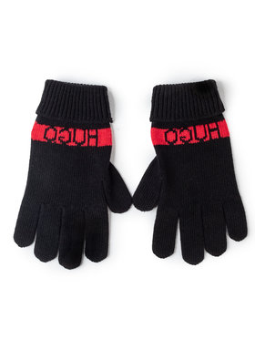 Hugo Hugo Pánske rukavice Wolo 50415365 Čierna