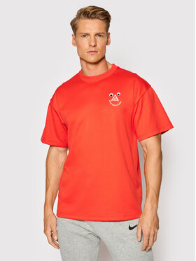 Nike Nike Tricou All Conditions Gear CU0098 Roșu Regular Fit