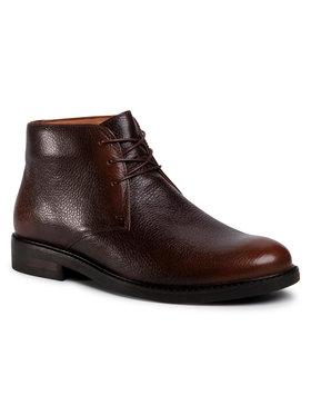 Gino Rossi Gino Rossi Šnurovacia obuv MI07-A962-A791-20 Hnedá