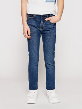 Calvin Klein Jeans Calvin Klein Jeans Džínsy Essential IB0IB00767 Tmavomodrá Skinny Fit