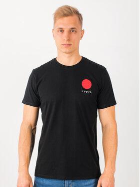 Edwin Edwin T-Shirt Japanese Sun Ts I025020 TF10J94 8967 Czarny Regular Fit