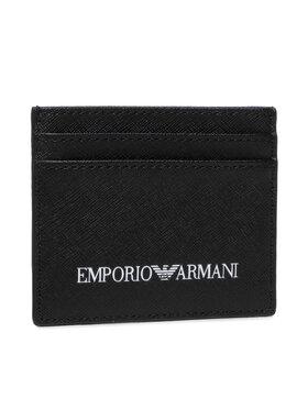 Emporio Armani Emporio Armani Custodie per carte di credito Y4R324 Y020V 81072 Nero