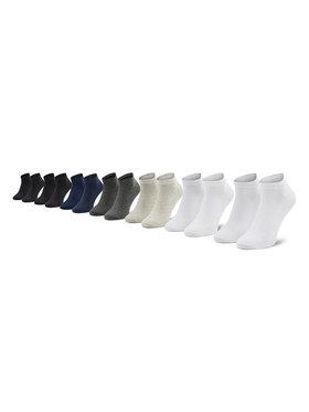Jack&Jones Jack&Jones Комплект 7 чифта дълги чорапи мъжки Basic Short 12192590 Цветен