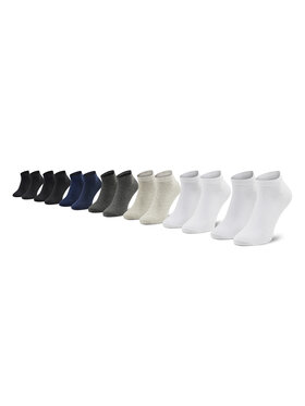 Jack&Jones Jack&Jones Sada 7 párů pánských vysokých ponožek Basic Short 12192590 Barevná