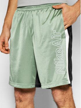 Nike Nike Športové kraťasy Air CJ4851 Zelená Loose Fit