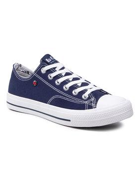 Lee Cooper Lee Cooper Sneakers aus Stoff LCW-21-31-0317M Dunkelblau