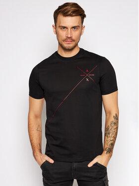 Armani Exchange Armani Exchange T-shirt 6HZTLN ZJ9AZ 1200 Noir Regular Fit