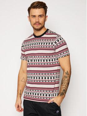 HUF HUF T-Shirt PLAYBOY Stripe KN00301 Kolorowy Regular Fit