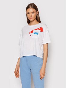 Nike Nike T-shirt Dri-FIT Graphic DC7189 Bijela Oversize