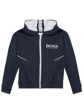 Boss Boss Bluză J25M09 M Bleumarin Regular Fit