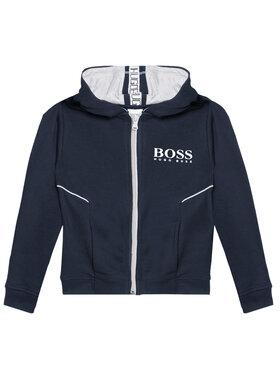 Boss Boss Bluza J25M09 M Granatowy Regular Fit