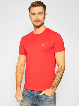 Calvin Klein Jeans Calvin Klein Jeans Póló Essential J30J314544 Piros Slim Fit