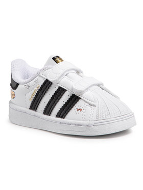 adidas adidas Обувки Superstar Cf I FZ0619 Бял