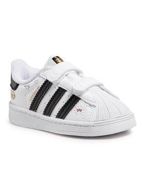 adidas adidas Pantofi Superstar Cf I FZ0619 Alb